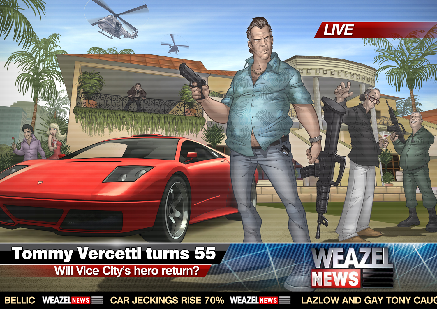 GTA : Vice City 2011