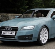 Une Audi tout en papier