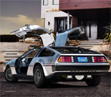 Une nouvelle version de la DeLorean !