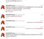 Le compte Twitter @AUCHAN_France piraté