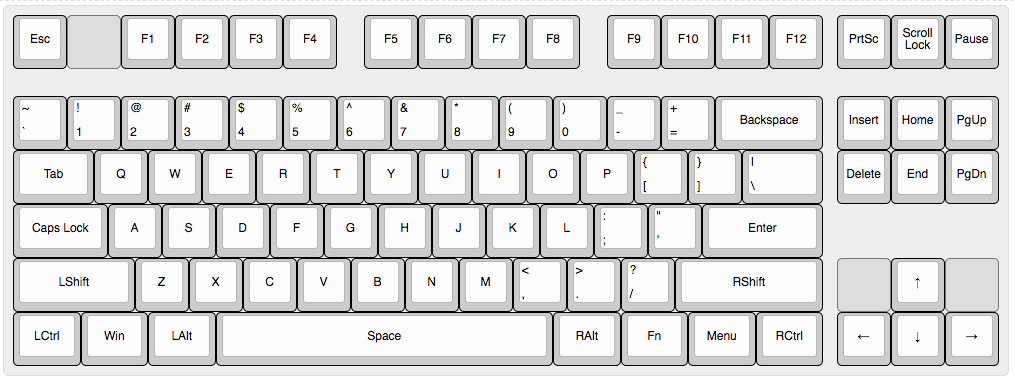 XD87 TKL Keyboard kit – how to customize the layout/firmware and
