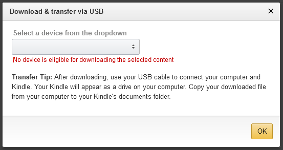 Screenshot cannot download ebook file